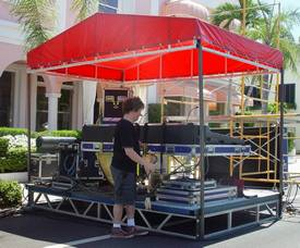 Stage Rental - Optional FOH Station